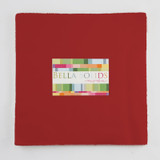 Bella Solids | Moda Fabrics | Red | Junior Layer Cake