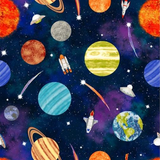 Lost In Space | Blank Quilting | EQS | BL9769-99 - Planets
