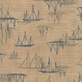 Ebb and Flow | Janet Clare | Moda Fabrics | 1486-14 | Ships, Sand