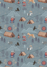 Viking Adventure | Lewis and Irene | A376.3 | Viking Village on Blue Grey