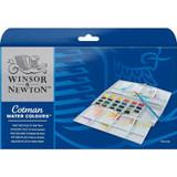 Winsor & Newton Cotman Watercolour Painting Plus 24 Half Pan Set - Main