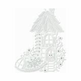 Sweet Dixie Fairy Boot House Metal Cutting Die (Grey) - Main
