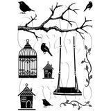 Card-io   Rubber Stamps   Swings and Things