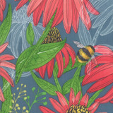 Painted Meadow | Robin Pickens | Moda Fabrics | 48660-12 | Teal
