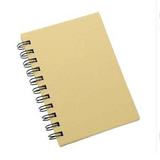 A5 Plain Covered Notebook | 80 Dotted Pages | Efco, Creative Emotions