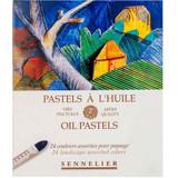 Sennelier | Oil Pastels | 24 Landscape Colours Art Set - Main