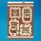 Santa's List Toppers   No Scissors Die-cut Decoupage   My Paper Stash   Craft UK Ltd