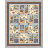 Lost World | Nutex UK Limited | 80300 104 | Way To Go Quilt Pattern - Main Image