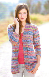 Cardigan, Mozart Knitting Pattern - Adriafil Knitcol Free Downloadable Pattern - what you can make