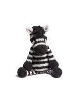 Toft Amigurumi Crochet Kits | Edward's Menagerie Animals | Kerry Lord | Alice the Zebra - Level 3 (Intermediate)