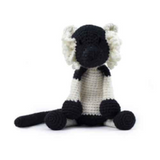 Toft Amigurumi Crochet Kits | Edward's Menagerie Animals | Kerry Lord | Andre the Lemur - Level 1 (Complete Beginner)