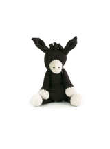 Toft Amigurumi Crochet Kits | Edward's Menagerie Animals | Kerry Lord | Angharad the Donkey - Level 1 (Complete Beginner)