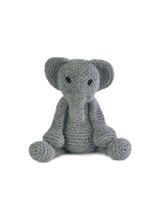 Toft Amigurumi Crochet Kits | Edward's Menagerie Animals | Kerry Lord | Bridget the Elephant - Level 1 (Complete Beginner)