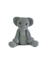 Toft Amigurumi Crochet Kits | Edward's Menagerie Animals | Kerry Lord | Bridget the Elephant - Level 1 (Complete Beginner)