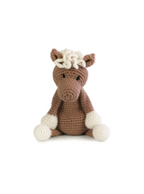 Toft Amigurumi Crochet Kits | Edward's Menagerie Animals | Kerry Lord | Chardonnay the Pony - Level 1 (Complete Beginner)