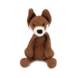 Toft Amigurumi Crochet Kits | Edward's Menagerie Animals | Kerry Lord | Esme the Fox - Level 3 (Intermediate)