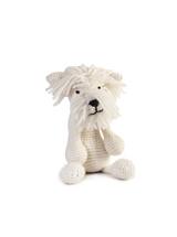 Toft Amigurumi Crochet Kits | Edward's Menagerie Animals | Kerry Lord | Geoff the Westie - Level 3 (Intermediate)