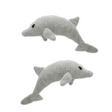 Toft Amigurumi Crochet Kits | Edward's Menagerie Animals | Kerry Lord | Jessica and Tate the Bottlenose Dolphins - Level 2 (Easy)