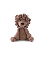 Toft Amigurumi Crochet Kits | Edward's Menagerie Animals | Kerry Lord | Rufus the Lion - Level 1 (Complete Beginner)
