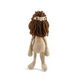 Toft Amigurumi Crochet Kits | Edward's Menagerie Animals | Kerry Lord | Doll with Beard - Level 1 (Complete Beginner)