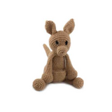 Toft Amigurumi Crochet Kits | Edward's Menagerie Animals | Kerry Lord | Shiela the Kangaroo - Level 1 (Complete Beginner)