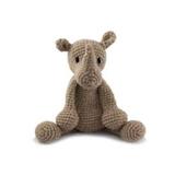 Toft Amigurumi Crochet Kits | Edward's Menagerie Animals | Kerry Lord | Austin the Rhino - Level 1 (Complete Beginner)