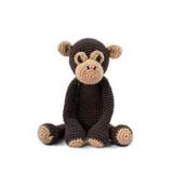 Toft Amigurumi Crochet Kits | Edward's Menagerie Animals | Kerry Lord | Benedict the Chimpanzee - Level 2 (Easy)