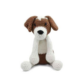 Toft Amigurumi Crochet Kits | Edward's Menagerie Animals | Kerry Lord | Timmy the Jack Russell - Level 3 (Intermediate)