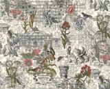 Memoirs | 3 Sisters | Moda Fabrics | 44210-11 | Ephemera Collage