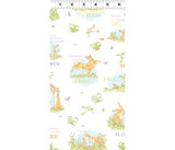 Guess How Much I Love You, When I'm Big | Anita Jeram | Clothworks Fabrics | CWY2871-1 | Exploring, White