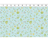 Guess How Much I Love You, When I'm Big | Anita Jeram | Clothworks Fabrics | CWY2873-32 | Flowers, Blue