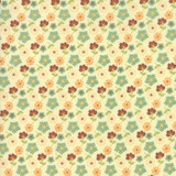 Last Bloom | Sandy Gervais | Moda Fabrics | 18002-21, Mixed Bouquet Snow