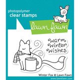 Clear Stamp   Lawnfawn   Christmas Stamp   Winter Fox