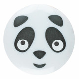 Panda Face Buttons | 15 mm | Dill (261348)