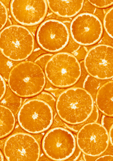 Decopatch Paper | Individual Sheets | 494 | Sliced Oranges