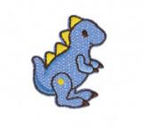 Blue Dinosaur | Iron on Motif