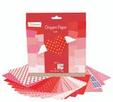 Love, 70g Origami Paper | 20 x 20 cm | 60 sheets + 1 Eye Sticker Sheet