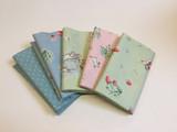 Penny Rose Fabrics | Bunnies & Cream | Fat Quarter Bundle | 5 Fat Quarters | Bunnies