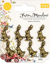 Craft Consortium | Farm Meadow | Rabbits Charms
