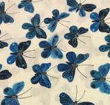 Moody Blues | Butterflies | Geninne for Cloud 9 Fabrics | COL00 | Butterfly Print Fabric