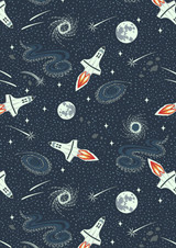 Light Years | Lewis and Irene | A421.3 | Rockets, Navy Blue