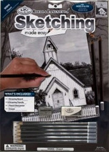 Sketching Made Easy, A4 Size | Chapel | Royal & Langnickel