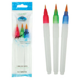 Royal & Langnickel - Aqua Flo Brush - Small, Medium & Large