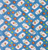 Farmyard Collection | Fabric Freedom | FF101 | Milk & Flowers