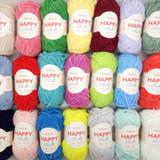 Sirdar Happy Chenille Yarn | 15g Balls | Various Shades - Main