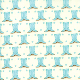 Howdy Fabric Collection | Stacy Iest Hsu | Moda Fabrics | Blue Boots