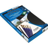 Daler Rowney | The Langton and Sapphire Brush Zip Case | 9pc