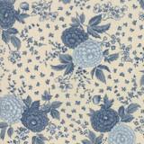 Le Beau Papillon | French General | Moda Fabrics | 13862-13 Pearl Blue