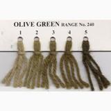 Appletons Crewel Wool in Hanks | Olive Green
