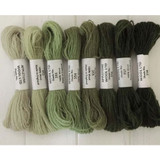 Appletons Crewel Wool in Skeins | Grey Green Shades - Main Images